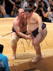 Kotooshu contre Takekaze