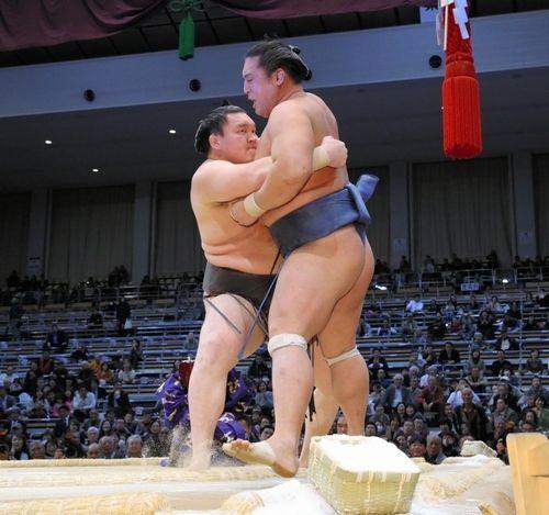 Hakuho contre Homasho