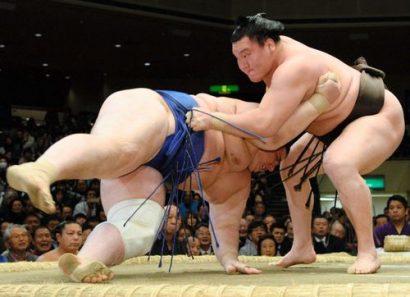 Hakuho domine le tournoi en battant Aoiyama