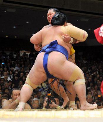 Shôhôzan quitte le peloton après sa défaite contre Kotoshogiku