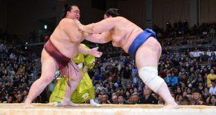 Défaite de Kisenosato contre Aoiyama