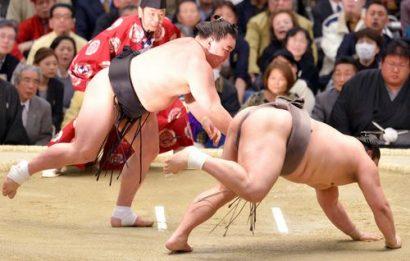 Harumafuji contre Okinoumi