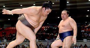 Kakuryû perd contre Okinoumi