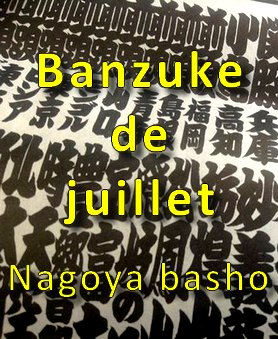 Nagoya basho 2014 banzuke