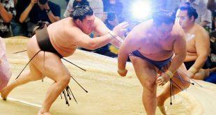 Hakuho contre Tamawashi