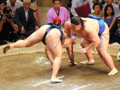 Ichinojo contre Kakuryu