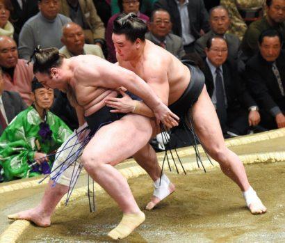 Harumafuji contre Tochinoshin
