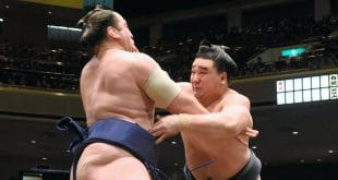Tochinoshin contre Harumafuji