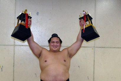 Sekiwake Terunofuji, le plus grand challenger du tournoi