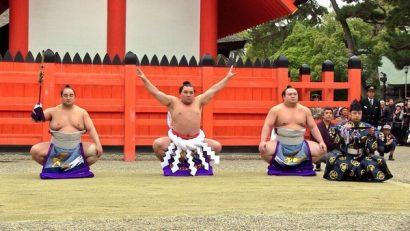 Harumafuji dohyo iri au temple