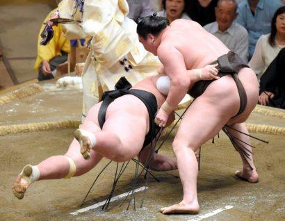 Hakuho et Kaisei conservent la tête du tournoi
