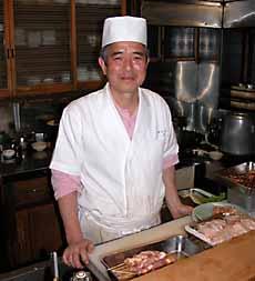 Monsieur Kawasaki, le chef du restaurant