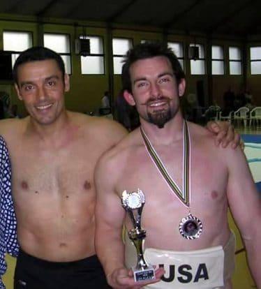Jean-Philippe avec Trent Sabo