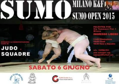 Open de sumo de Milan 2015