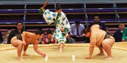 Le sumo, bientôt un sport olympique?