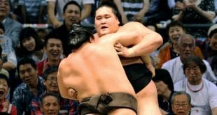 Hakuho contre Terunofuji une