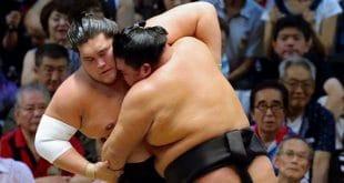 Terunofuji contre Goeido