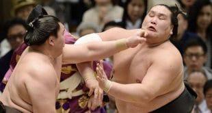 Terunofuji sera au centre des attentions lors du Nagoya basho 2015