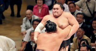 Tochiozan contre Terunofuji