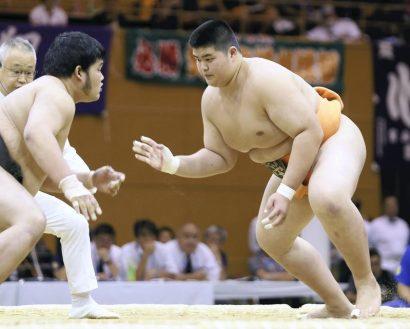 Masakatsu Kamatani, fils de Kotonowaka entre dans le sumo