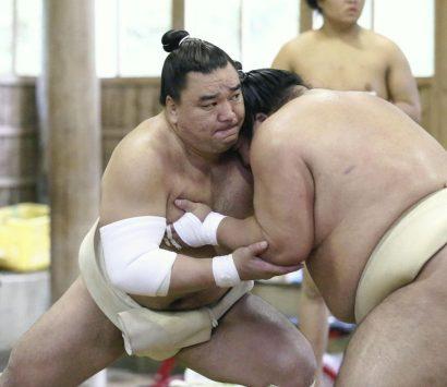 Harumafuji détendu avant le tournoi