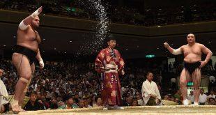 Osunaarashi contre Harumafuji