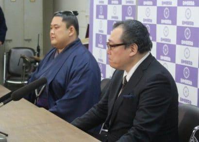 Daido avec Onomatsu oyakata