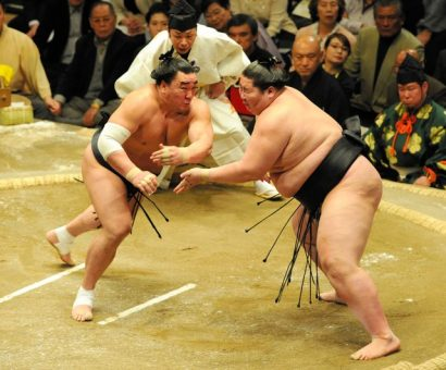Harumafuji contre Ichinojo