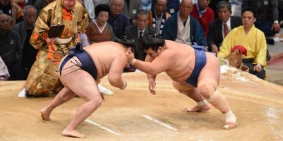 Victoire de Kotoshogiku sur Kakuryu