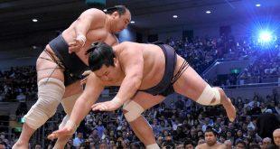 Aminishiki contre Myogiryu une