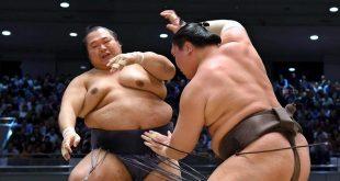 Hakuho contre Toyonoshima une