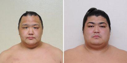 Daiki et Shimanoumi nouveaux jûryô