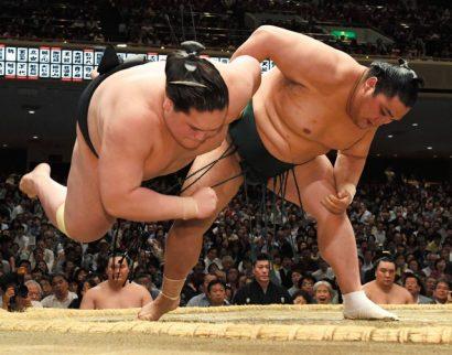 Le cauchemar de Terunofuji continue avec aujourd'hui sa sixième défaite consécutive