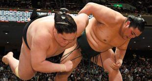 Terunofuji contre Okinoumi