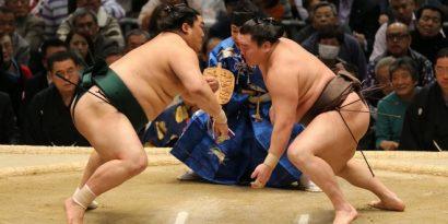 Une journée sans surprise qui s'est terminée par les victoire des yokozuna et des ôzeki