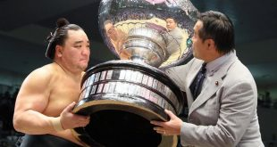 Harumafuji remporte le tournoi de Nagoya