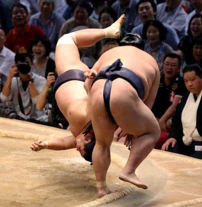Ca passe de justesse pour Kisenosato