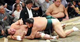 Okinoumi contre Harumafuji