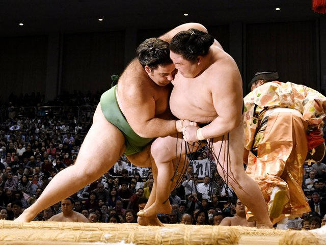 Goeido contre Kaisei