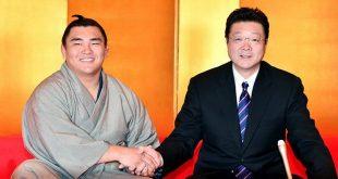 Terutsuyoshi et Isegahama oyakata