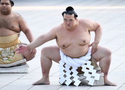 Premier yokozuna dohyo-iri pour Kisenosato