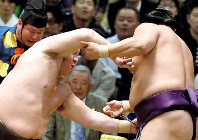 Les quatre yokozuna s'imposent sans problème