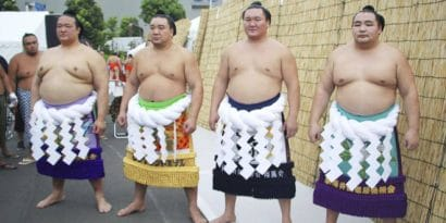 Hakuho, Kisenosato et Kakuryu forfaits