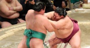 Mitakeumi contre Yoshikaze