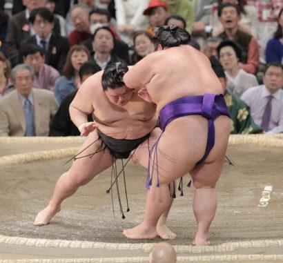 Goeido contre Takakeisho