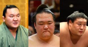 Hakuho, Kisenosato, Takanoiwa