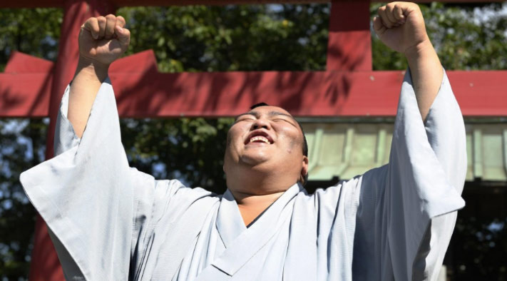 Mitakeumi heureux de sa victoire