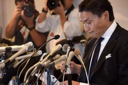 Takanohana démissionne de la NSK