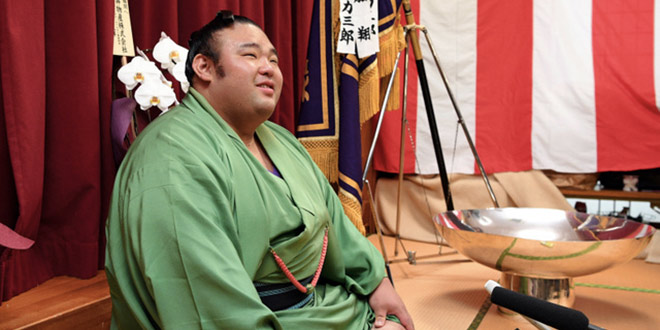 Takakeisho conférence de presse