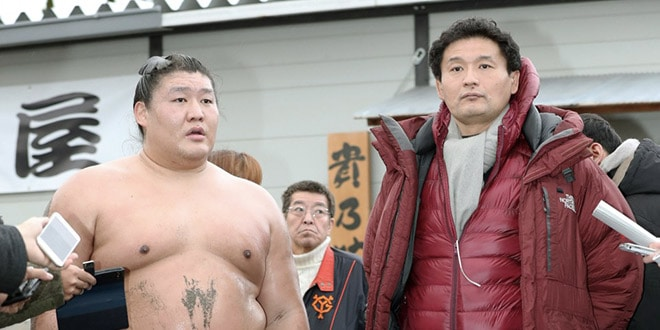 Takanoiwa est finalement un agresseur